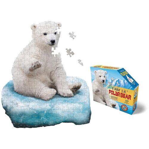 Konturenpuzzle »Junior Eisbär«, 100 Puzzleteile