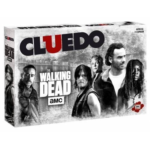 Winning Moves Spiel, Brettspiel »Cluedo The Walking Dead AMC«