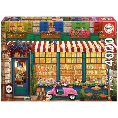 Educa Puzzle »VINTAGE BOOKSHOP«, 4000 Puzzleteile