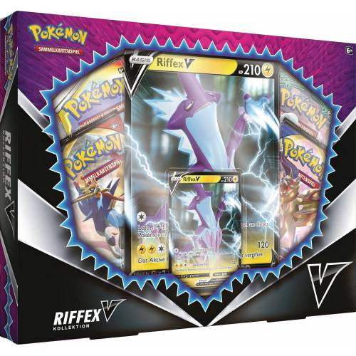 AMIGO Sammelkarte »Pokémon February V Box«