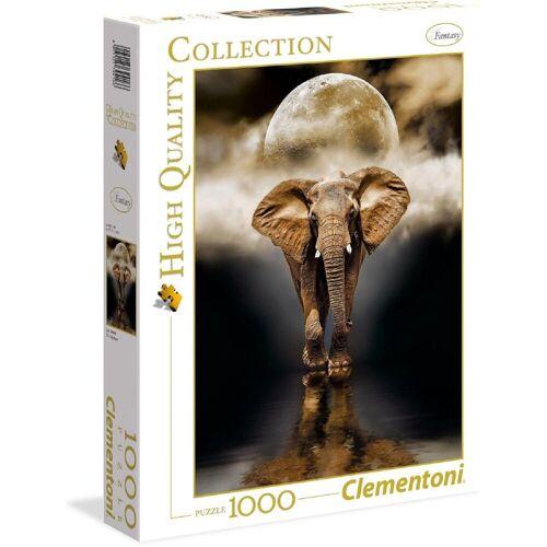 Clementoni® Puzzle »Clementoni - The Elephant, 1000 Teile Puzzle«, 1000 Puzzleteile