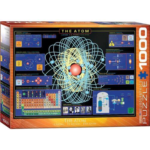 empireposter Puzzle »Das Atom - 1000 Teile Puzzle - Format 68x48 cm«, 1000 Puzzleteile