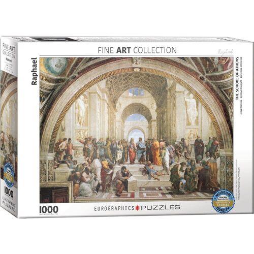 empireposter Puzzle »Raffael - Die Schule von Athen - 1000 Teile Puzzle - Format 68x48 cm«, 1000 Puzzleteile