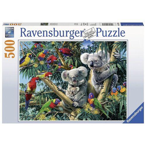 Ravensburger Puzzle »Puzzle 500 Teile, 49x36 cm, Koalas im Baum«, Puzzleteile