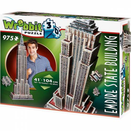 Wrebbit 3D-Puzzle »3D Puzzle 975 Teile Empire State Building«, Puzzleteile