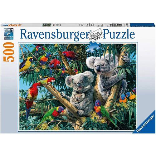 Ravensburger Puzzle »- Koalas im Baum, 500 Teile Puzzle«, 500 Puzzleteile