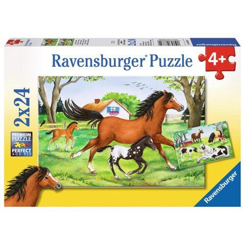 Ravensburger Puzzle »Welt Der Pferde«, 48 Puzzleteile