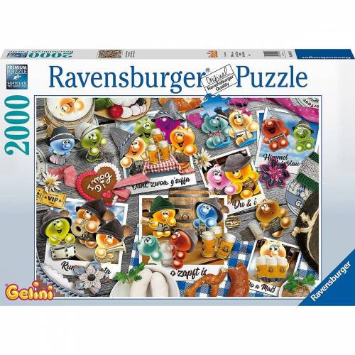 Ravensburger Puzzle »Puzzle Gelini auf dem Oktoberfest, 2.000 Teile«, Puzzleteile