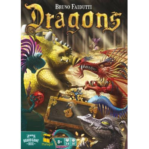 Board Game Box Spiel, Brettspiel »Dragons«