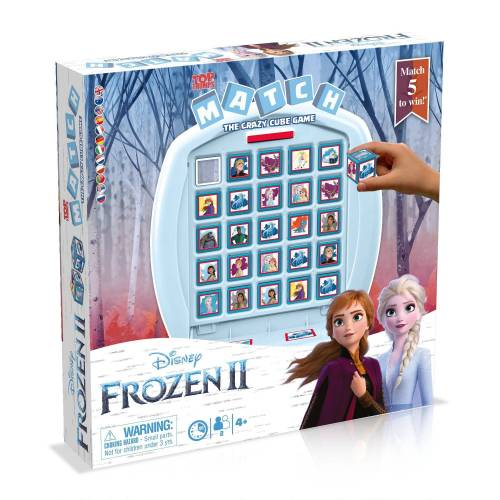 Winning Moves Spiel, Brettspiel »MATCH Frozen 2«