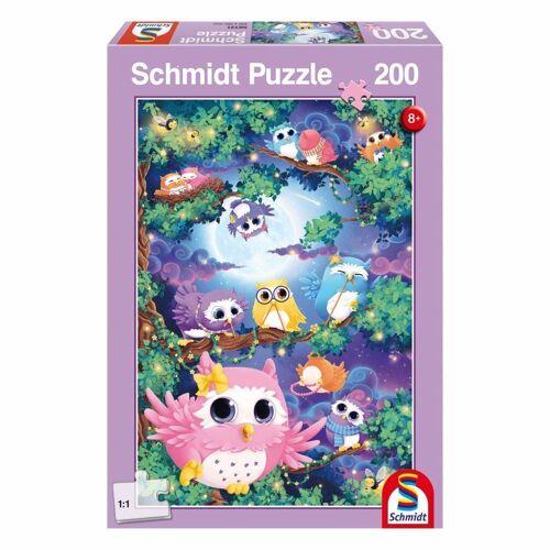 Schmidt Spiele Puzzle »Im Eulenwald«, 200 Puzzleteile