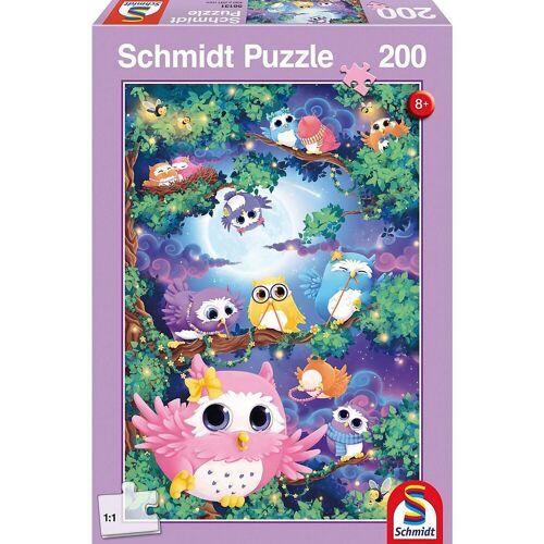 Schmidt Spiele Puzzle »Im Eulenwald, 200 Teile«, Puzzleteile