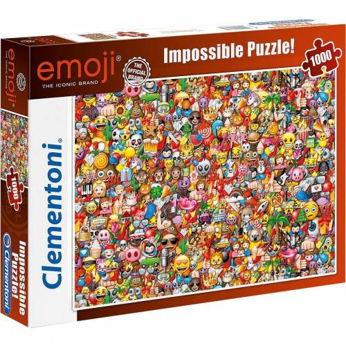 Clementoni® Puzzle »Impossible Puzzle 1000 Teile - Emoji«, Puzzleteile