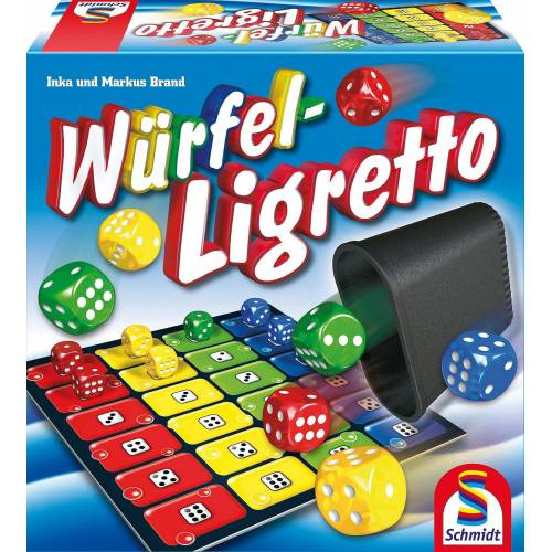 Schmidt Spiele Spiel, »Würfel-Ligretto«