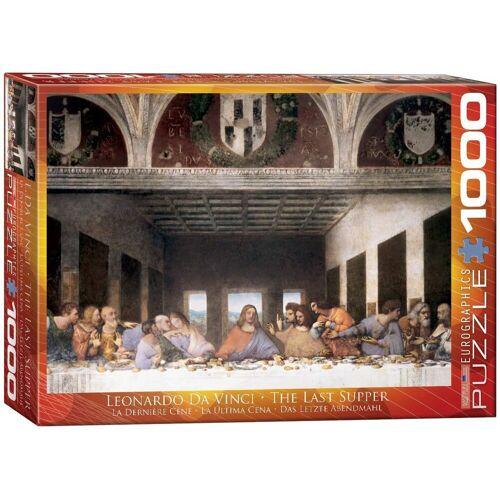 empireposter Puzzle »Leonardo da Vinci - Das letzte Abendmahl - 1000 Teile Puzzle - Format 68x48 cm«, 1000 Puzzleteile