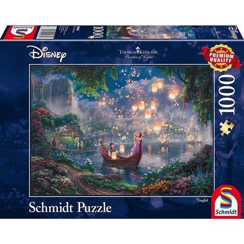 Schmidt Spiele Puzzle »Puzzle 1000 Teile Thomas Kinkade Disney Rapunzel«, Puzzleteile