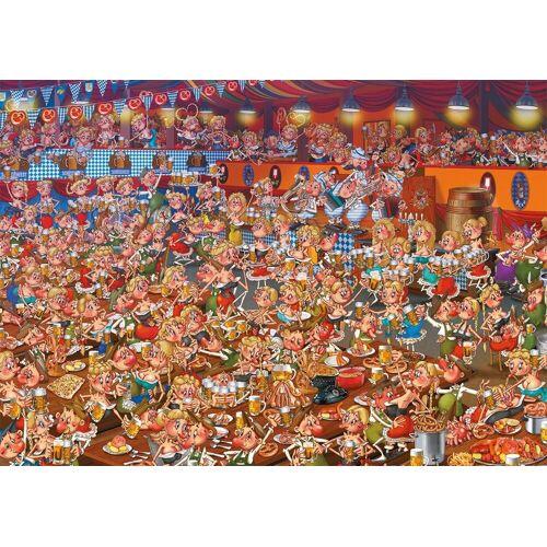 Piatnik Puzzle »Bayrisches Bierfest«, 1000 Puzzleteile