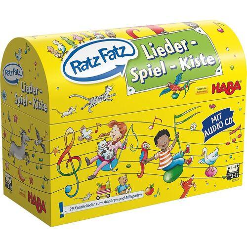 Haba Lernspielzeug »Ratz Fatz Lieder-Spiel-Kiste«