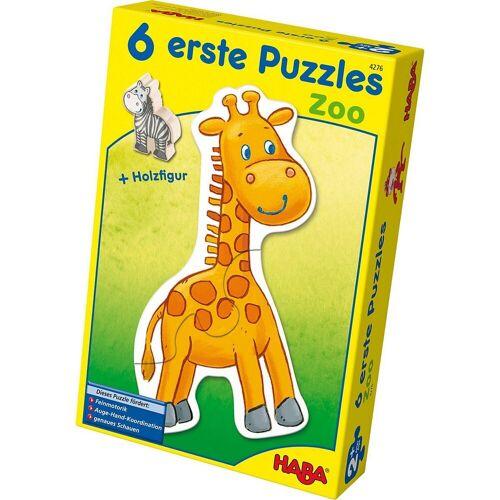 Haba Puzzle »4276 6 erste Puzzles - Zoo«, Puzzleteile