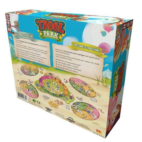 Board Game Box Spiel, Brettspiel »Trool Park«