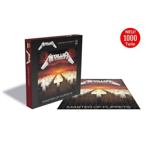 empireposter Puzzle »Metallica Master Of Puppets - 1000 Teile LP Cover Puzzle im Format 57x57 cm«, 1000 Puzzleteile