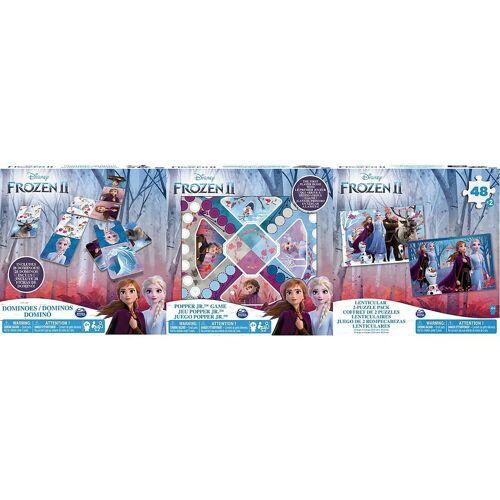 Spin Master Puzzle »Frozen 2 - Puzzles 3 Pack Games Bundle«, Puzzleteile