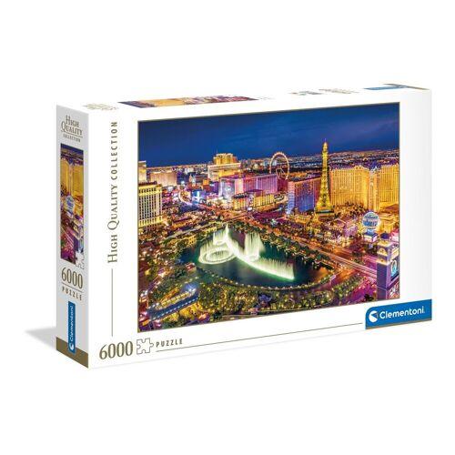Clementoni® Puzzle »Las Vegas«, 6000 Puzzleteile