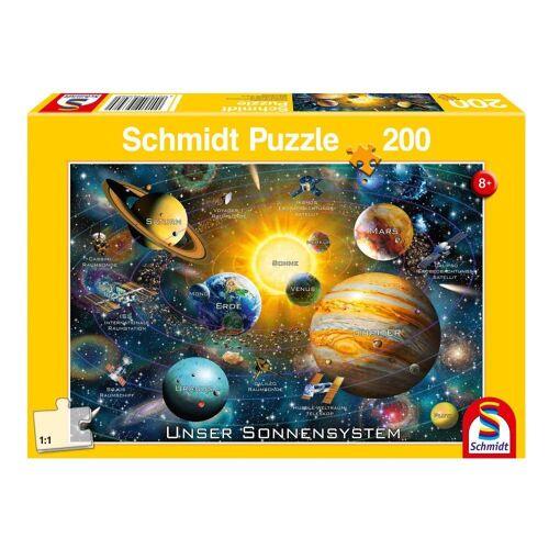 Schmidt Spiele Puzzle »Unser Sonnensystem«, 150 Puzzleteile