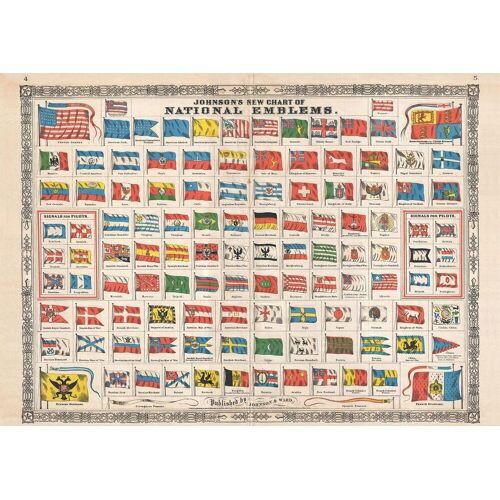 Piatnik Puzzle »Nationalflaggen«, 1000 Puzzleteile