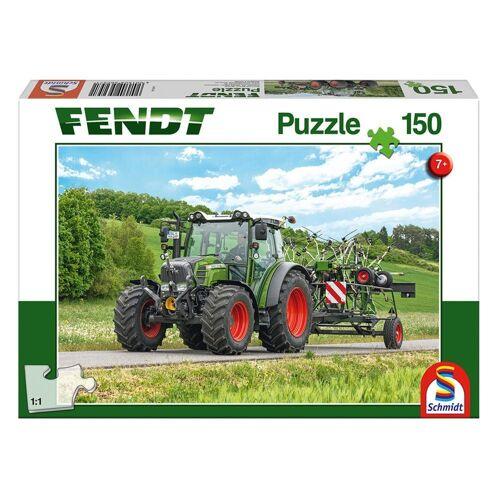 Schmidt Spiele Puzzle »Fendt 211 Vario mit Fendt Wender Twister«, 150 Puzzleteile