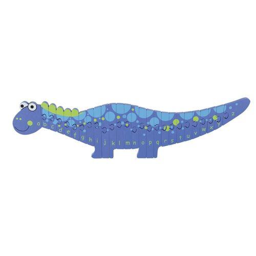 Nici Konturenpuzzle »ABC Puzzle Dinosaurier«, 26 Puzzleteile