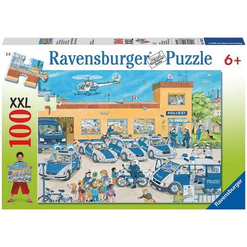 Ravensburger Puzzle »Puzzle, 100 Teile XXL, 49x36 cm, Polizeirevier«, Puzzleteile