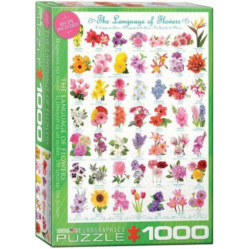 empireposter Puzzle »Sag's in der Sprache der Blumen - 1000 Teile Puzzle im Format 68x48 cm«, Puzzleteile