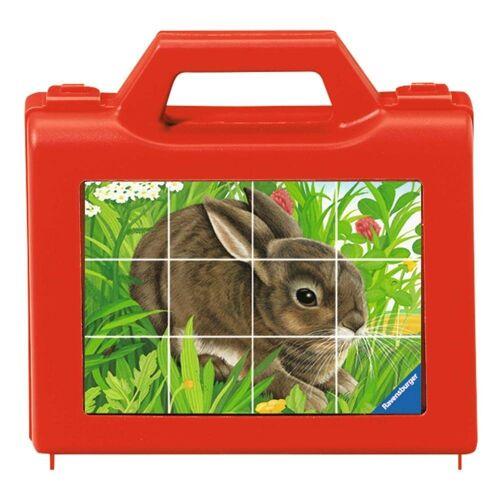 Ravensburger Würfelpuzzle »Tiere, Würfelpuzzle«, 12 Puzzleteile