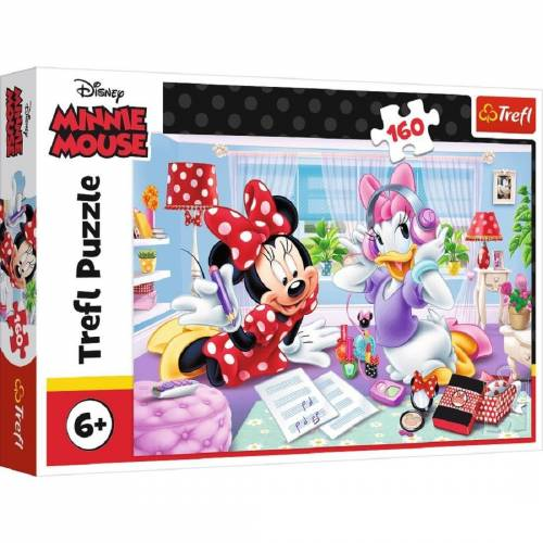 Trefl GmbH Puzzle »Trefl 15373 - Minnie Mouse and Daisy, 160 Teile«, 160 Puzzleteile
