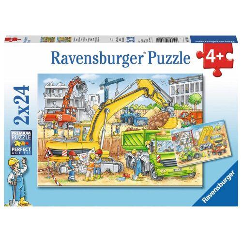 Ravensburger Puzzle »Viel Zu Tun Auf Der Baustelle«, 48 Puzzleteile
