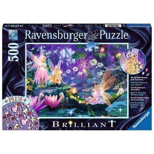 Ravensburger Puzzle »Im Feenwald, Spezialserie Brilliant«, 500 Puzzleteile