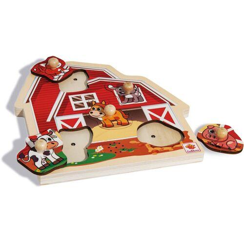 Eichhorn Steckpuzzle, Puzzleteile, mit Sound