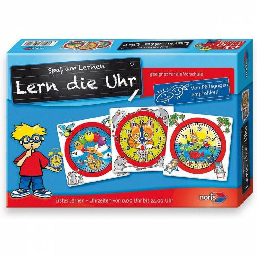 Noris Lernspielzeug »Lern die Uhr«