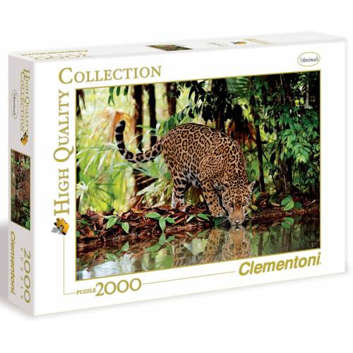 Clementoni® Puzzle »Leopard«, 2000 Puzzleteile, Made in Europe