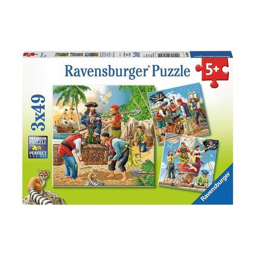 Ravensburger Puzzle »Abenteuer auf hoher See 3 X 49 Teile Puzzle«, Puzzleteile