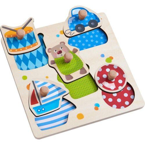 Haba Puzzle »Greifpuzzle Spielsachen«, 5 Puzzleteile