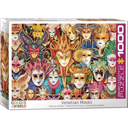 empireposter Puzzle »Venezianische Masken - 1000 Teile Puzzle Format 68x48 cm«, 1000 Puzzleteile