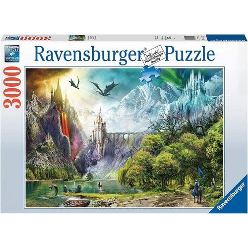 Ravensburger Puzzle »- Im Reich der Drachen, 3000 Teile«, 3000 Puzzleteile
