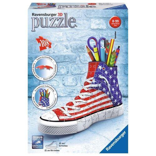 Ravensburger 3D-Puzzle »Organizer Sneaker American Style«, 108 Puzzleteile