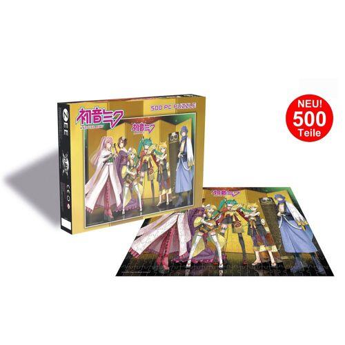 empireposter Puzzle »Hatsune Miku - Group - 500 Teile Anime Puzzle im Format 39x39 cm«, 500 Puzzleteile
