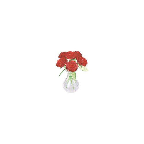 HCM KINZEL 3D-Puzzle »Crystal Puzzle - Rote Rosen«, Puzzleteile
