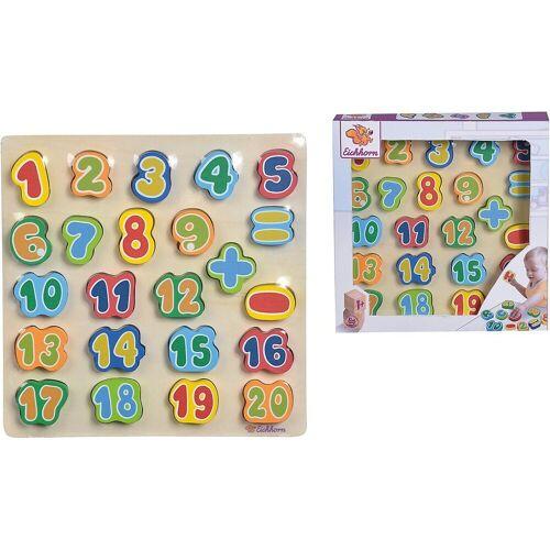 Eichhorn Steckpuzzle »Zahlen«, Puzzleteile