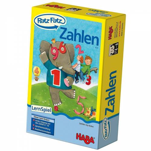 Haba Lernspielzeug »Ratz Fatz Zahlen«