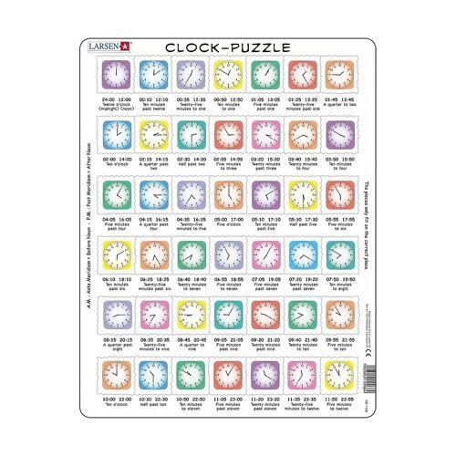 Larsen Puzzle, Puzzleteile